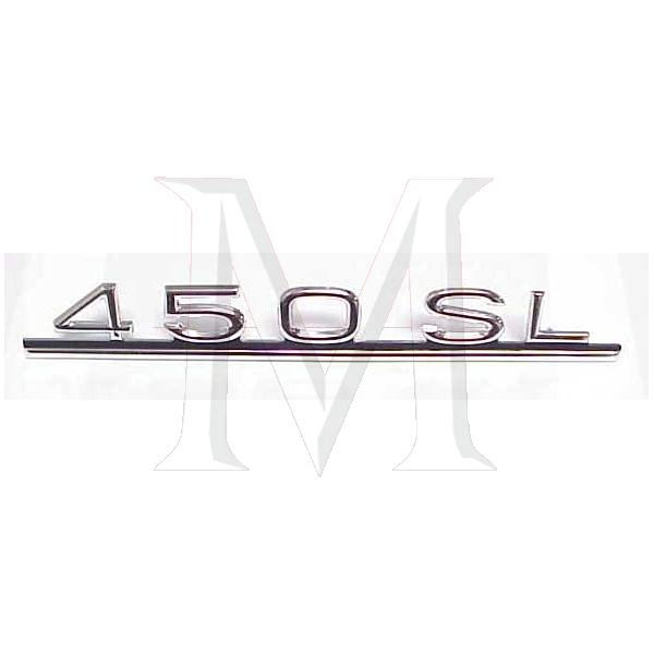 450SL TRUNK EMBLEM
