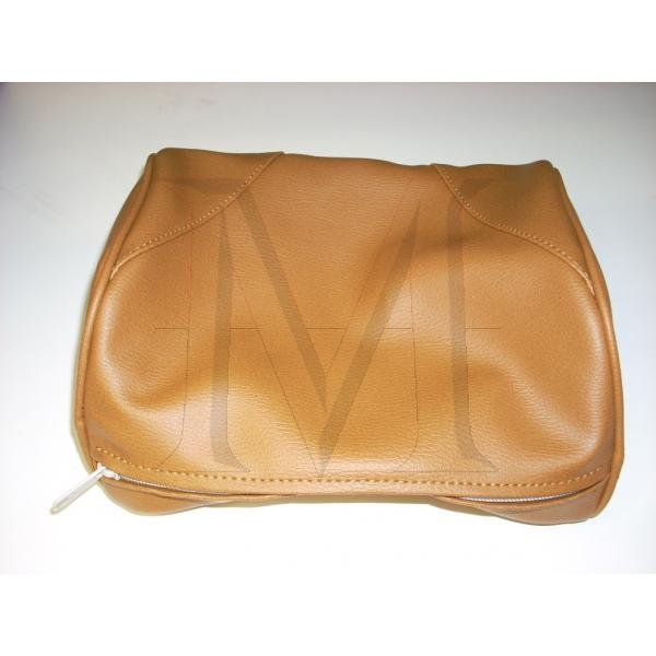 HEADREST COVER - LEATHER