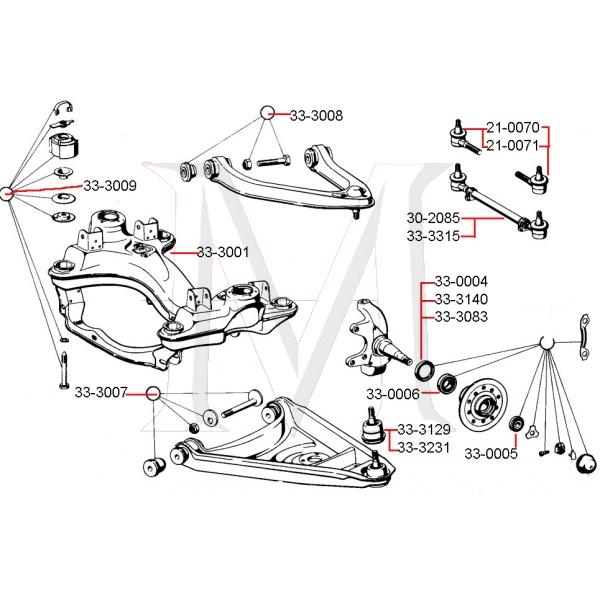 BALL JOINT - LOWER FRONT